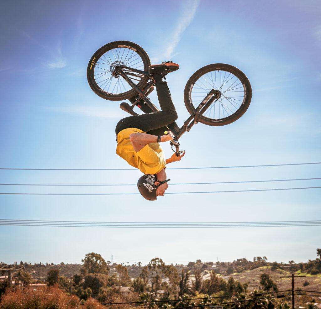riding San Diego bike park