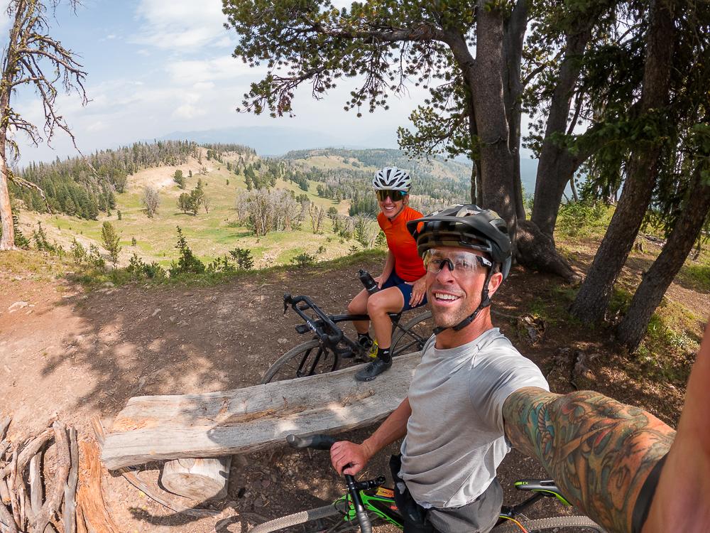 gravel ride big sky montana